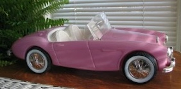 autos de Barbie