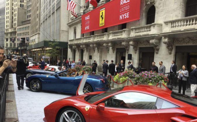 Ferrari se une a la bolsa