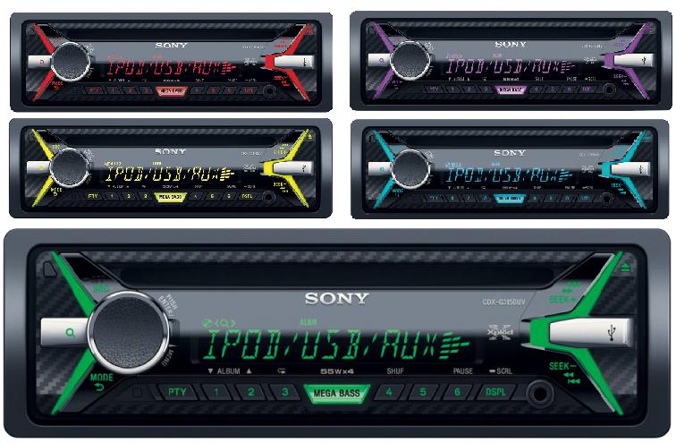 Sony CDX-G3150UV ok