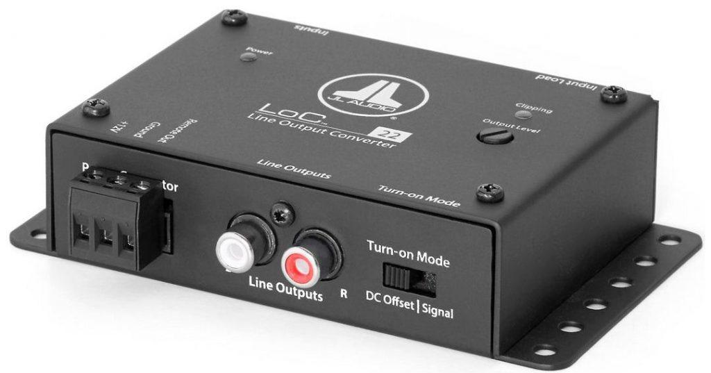 Convertidor de alta y baja JL Audio LoC-22