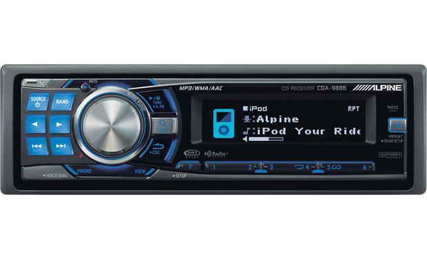 autoestéreos clásicos - Alpine CDA-9886