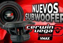 Woofers Cerwin Vega VMAX