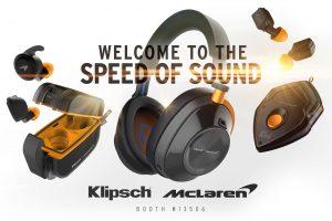 Klipsch y McLaren Racing - marca de Car Audio