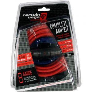 CERWIN VEGA CAK8, kit de instalación 100% de cobre