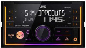 JVC KW–SX83BTS, autoestéreo doble din con pantalla LCD VA de 2 líneas