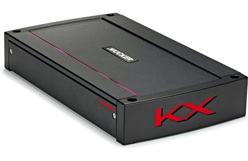 Frontal del mplificador Kicker 44KXA800.5