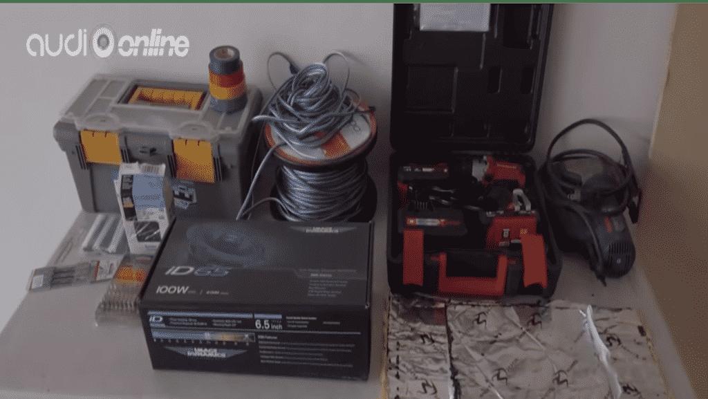 materiales para hacer bases para bocinas