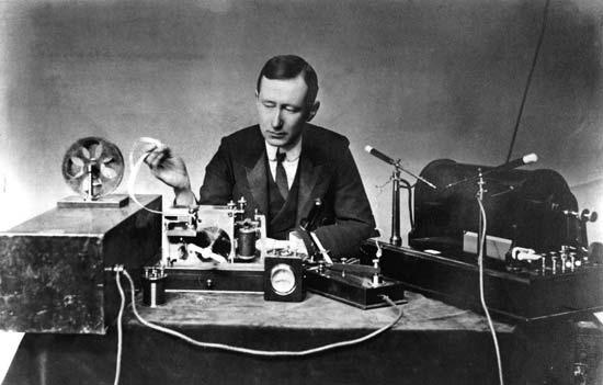 Guglielmo Marconi inició la historia de los autoestéreos