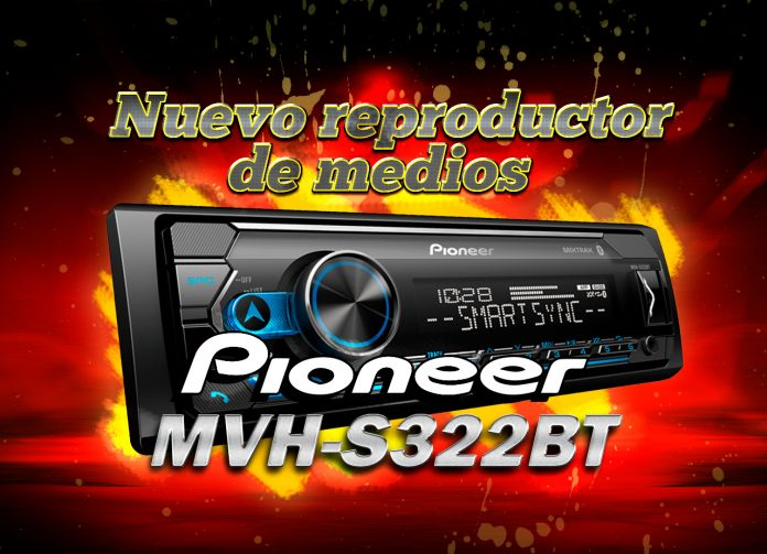 Pioneer MVH-S322BT
