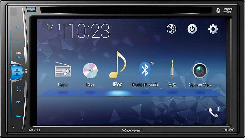 Nueva pantalla multimedia AVH 221EX de Pioneer