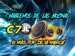 Bocinas JL audio c7