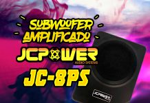 Subwoofer amplificado JC Power JC-8PS