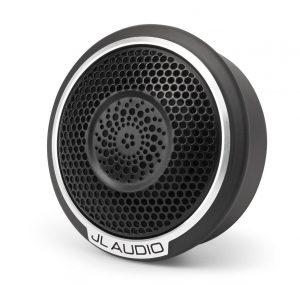 """tweeter de cúpula de aluminio de 1"""" en las bocinas JL audio c7"""