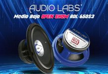 Medio Bajo para open show Audio Labs ADL-65OS3