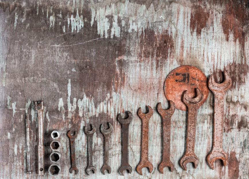 limpiar llaves oxidadas