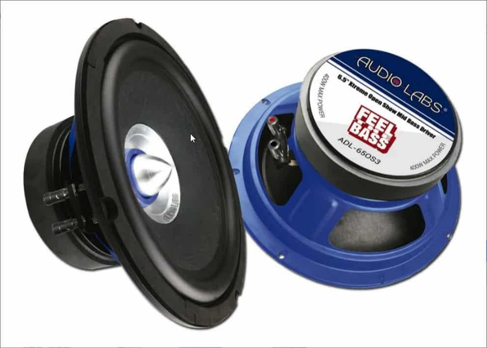 Medio bajo Audio Labs ADL-65OS3