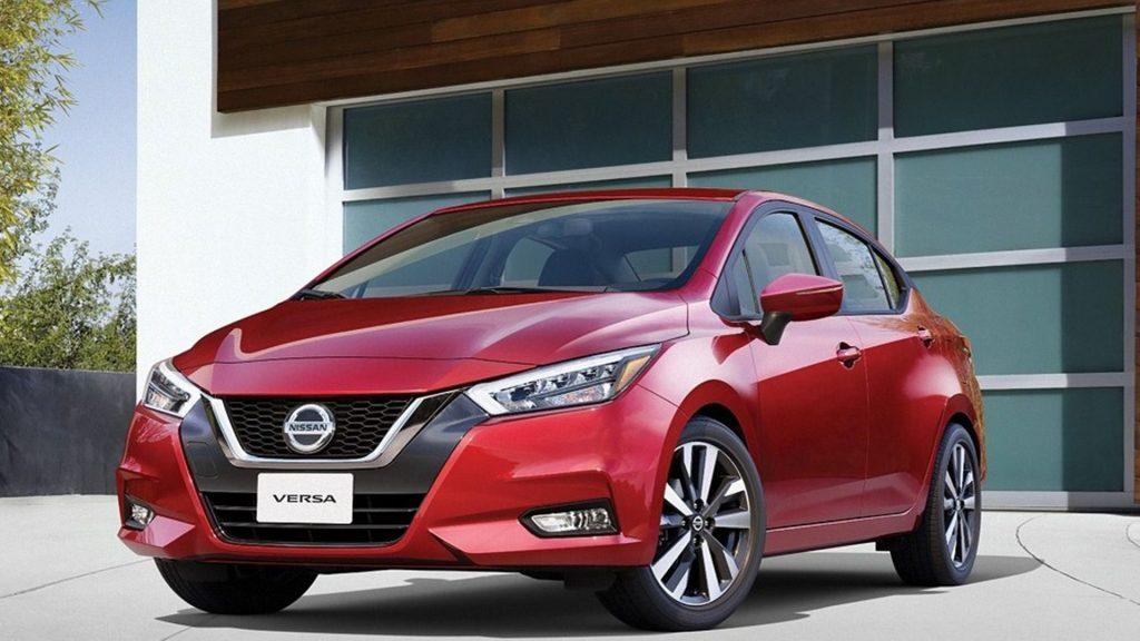 Nissan Versa - primer lugar de la lista de los coches más vendidos en 2020
