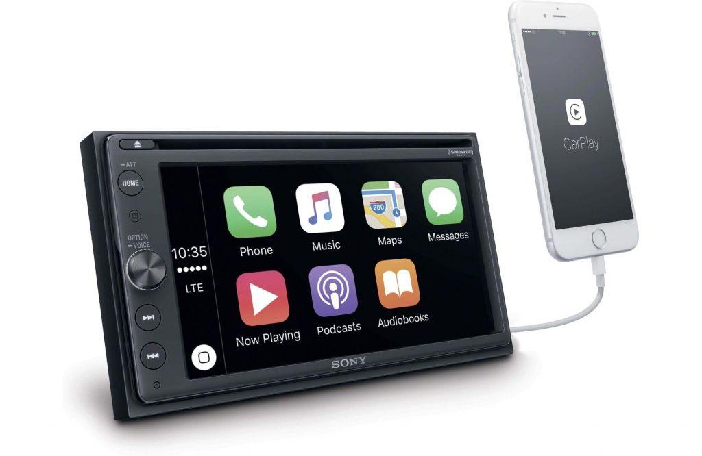 conectividad de la pantalla Sony XAV - AX200 al smartphone