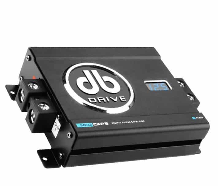 Db Drive Neo Cap5: capacitor digital para mantener una corriente estable en el sistema de audio