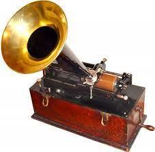 fonógrafo - primera bocina