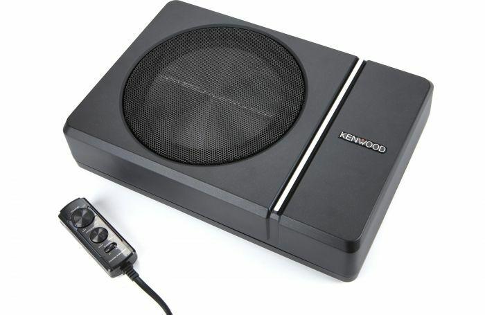 subwofer amplificado KENWOOD KSC-PSW8 en descuento por Hot Sale 2021