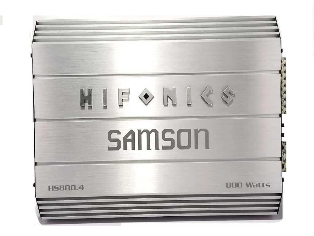 amplificador Hifonics HS800.4, clase A/B