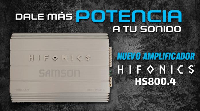 Amplificador Hifonics HS800.4