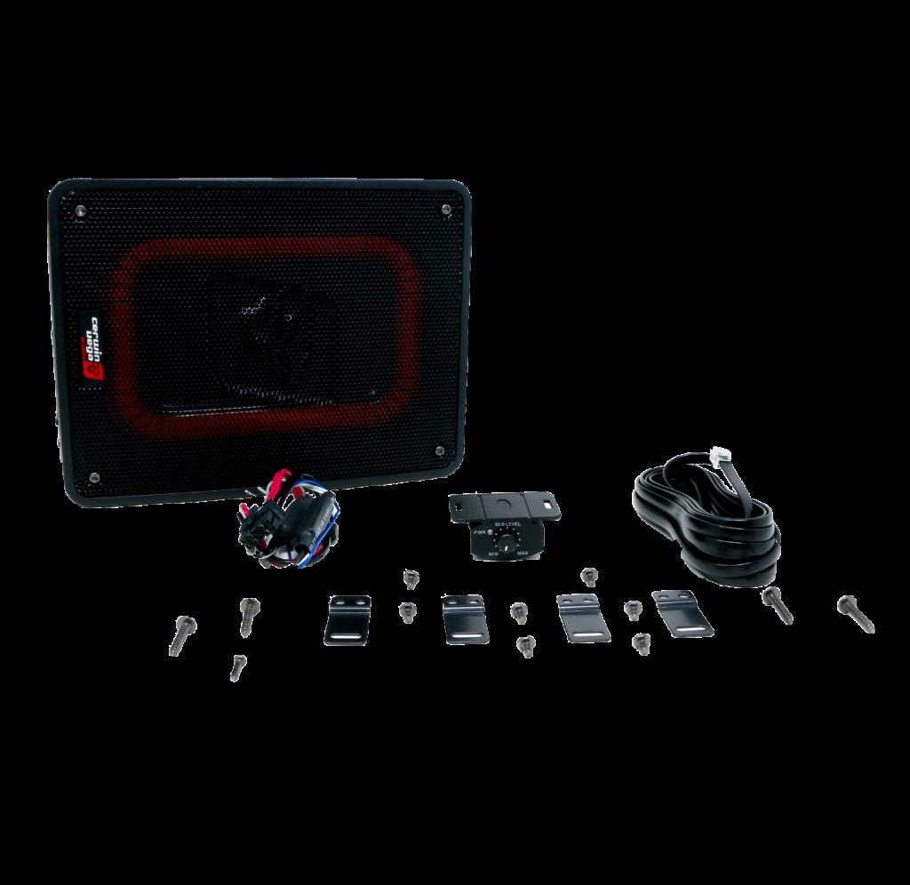 Nuevo subwoofer Cerwin Vega VPAS68 de 6x8 pulgadas y con amplificador integrado