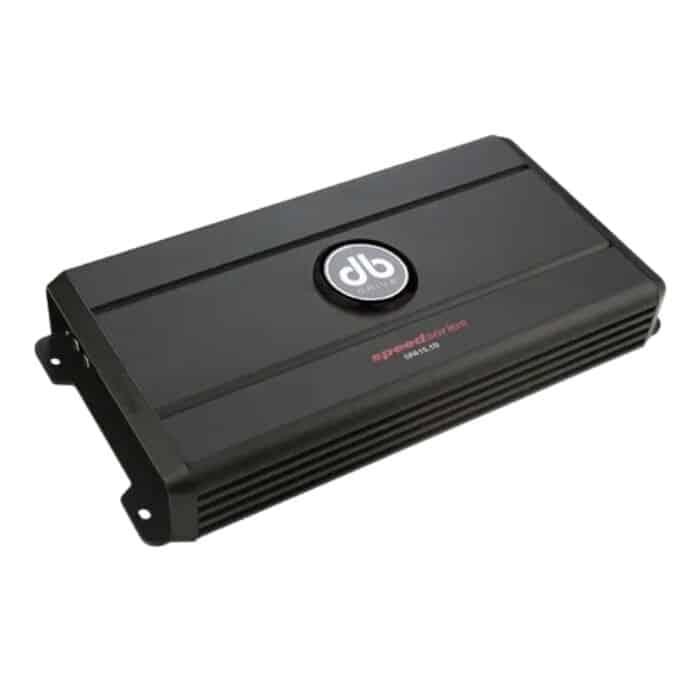 amplificador DB DRIVE SPEED SPA15.1D, ofrece hasta 1.500 watts RMS