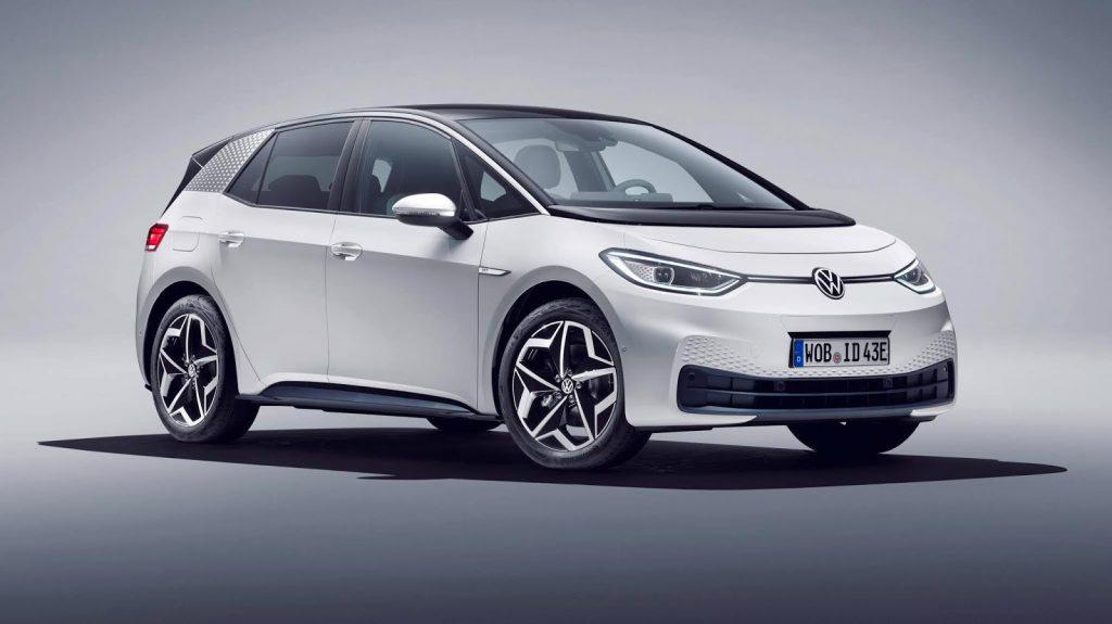 Volkswagen ID.3 el principal modelo de la lista de los coches más seguros del 2021
