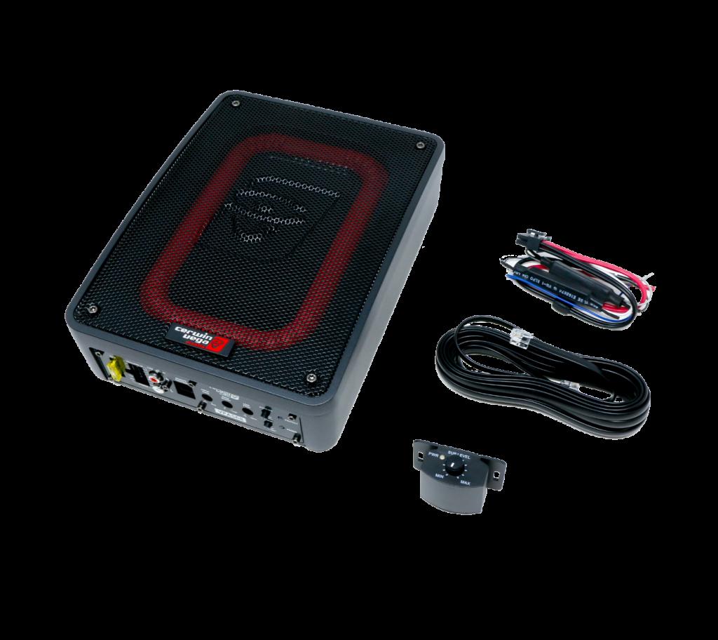 Cerwin Vega VPAS68 con amplificador integrado en cajón sellado