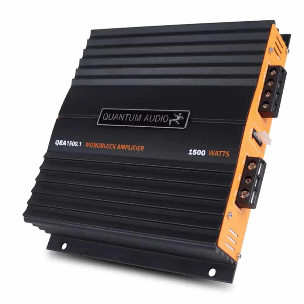 QUANTUM QEA1500.1D - amplificadores de carro