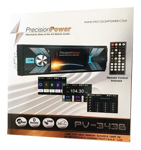autoestéreo Precision Power PV-343B